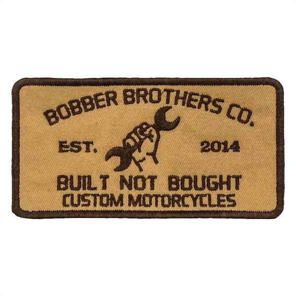 """Patch """"Bobber Brothers Co."""""""