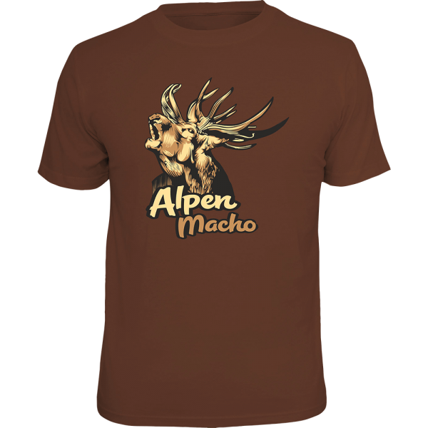 "T-Shirt ""Alpenmacho"""