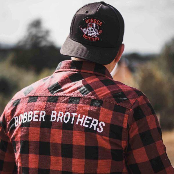 Biker Flanellhemd von Bobber Brothers