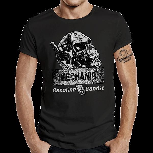 """T-Shirt """"Mechanics"""" von Gasoline Bandit"""