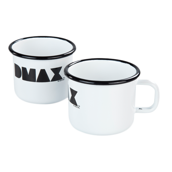 DMAX Emaille-Becher