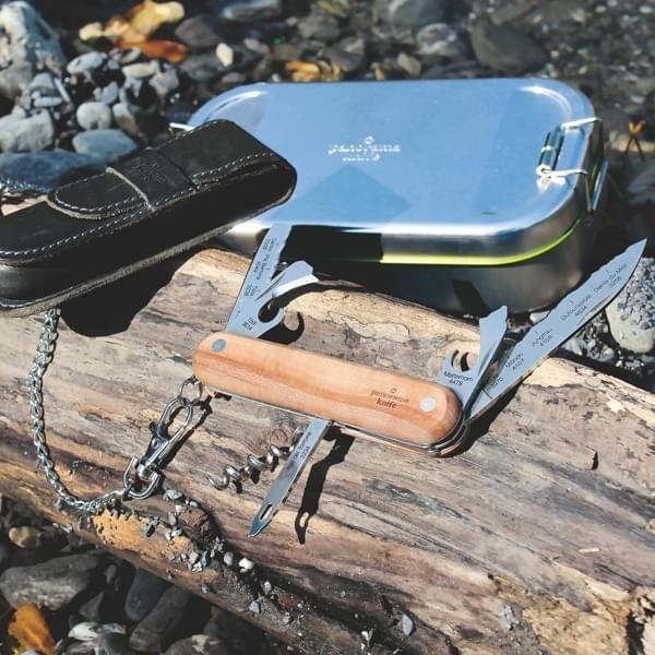 4-teiliges Taschenmesser Geschenk Set