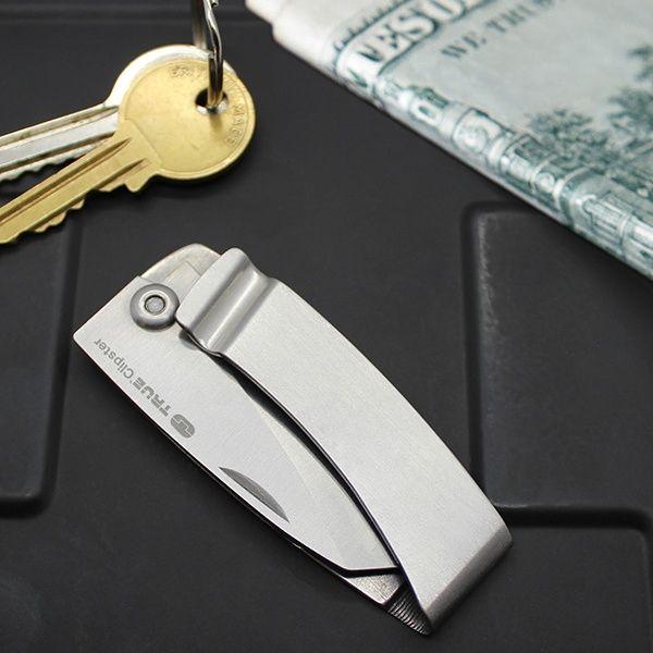 Kompaktes Taschenmesser mit Geldklammer