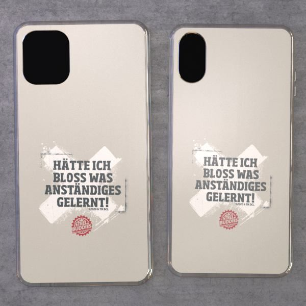 """Steel Buddies Cover """"Gelernt"""" für iPhone Modelle"""