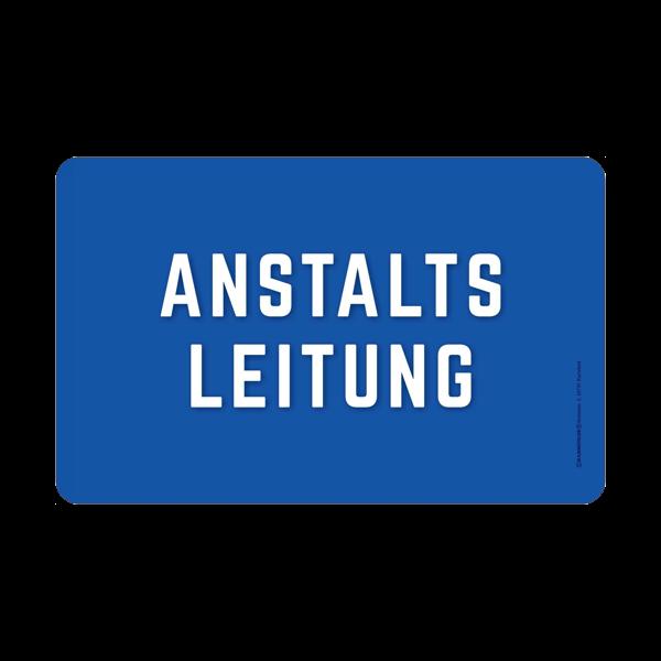"""Frühstücksbrett """"Anstaltsleitung"""""""