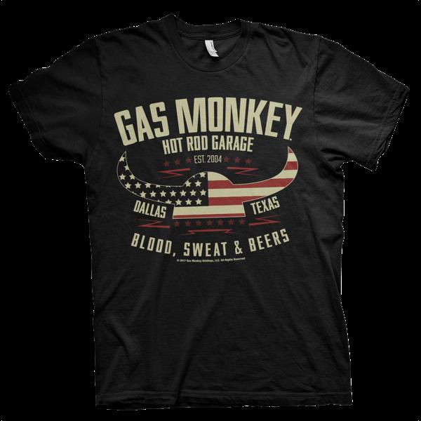 """Gas Monkey Garage T-Shirt """"Hot Rod Garage"""""""
