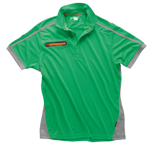"Workwear Polo-Shirt ""Pro Active Zip"""