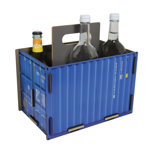 """Sixpack-Träger """"Container"""""""