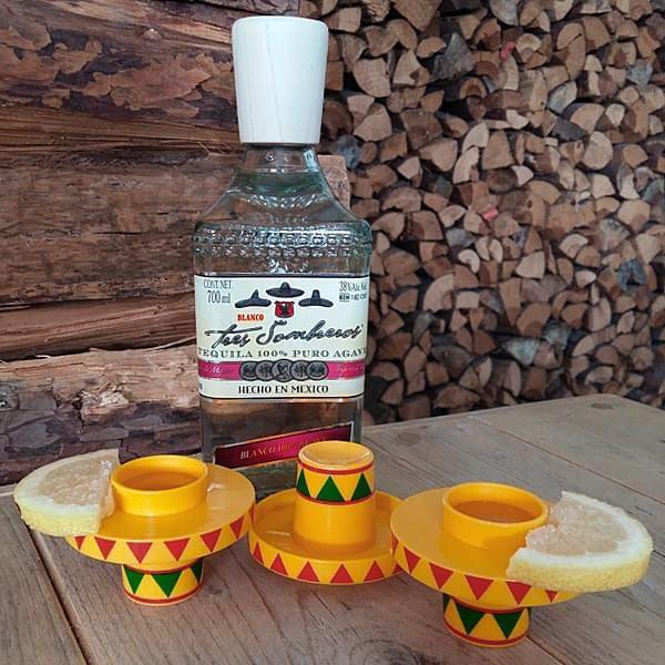 Tequila Tres Sombreros Blanco