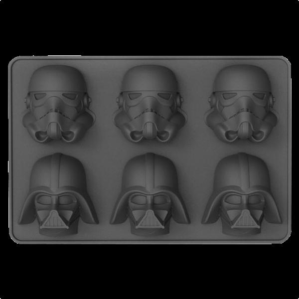 """Star Wars Eiswürfelform """"Darth Vader & Stormtrooper"""""""
