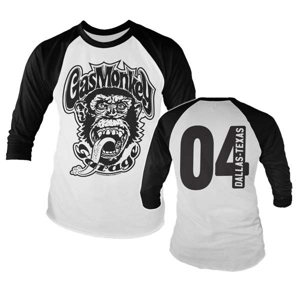 "Gas Monkey Garage Baseballshirt ""Dallas 04"""