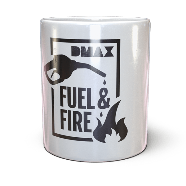 "DMAX Tasse ""Fuel & Fire"""