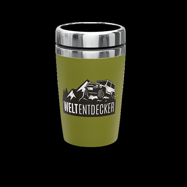 "Thermobecher ""Weltentdecker"""
