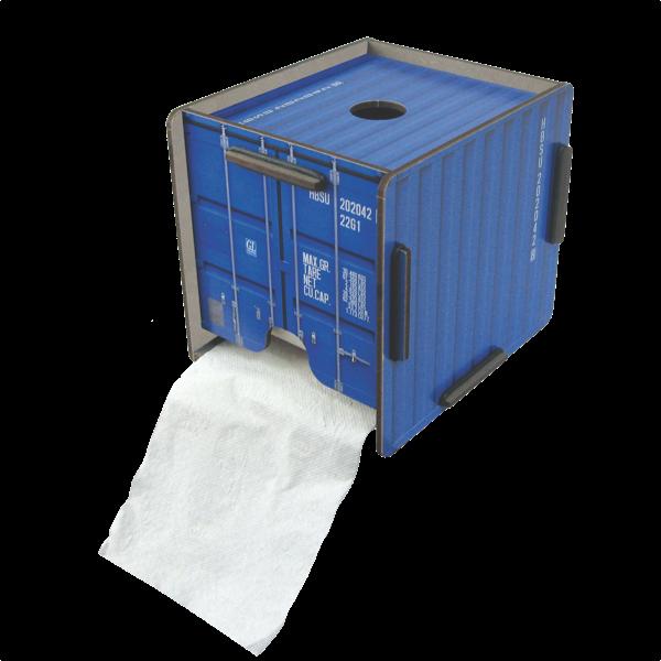 "Toilettenpapierhalter ""Container"""
