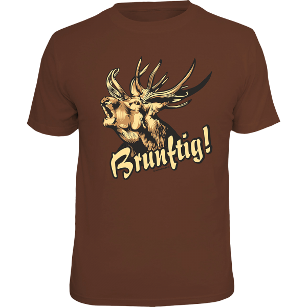 "T-Shirt ""Brunftig"""