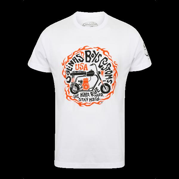 """Salinas Boys T-Shirt """"Live Hard, Ride Hard, Stay Hard."""""""