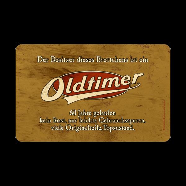 """Frühstücksbrett """"Oldtimer"""" 60"""