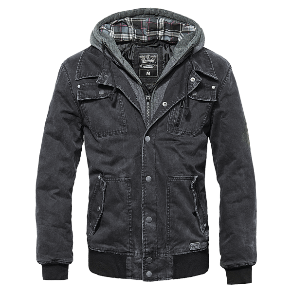 """Denim Sweater Jacke """"Dayton"""" von Brandit"""