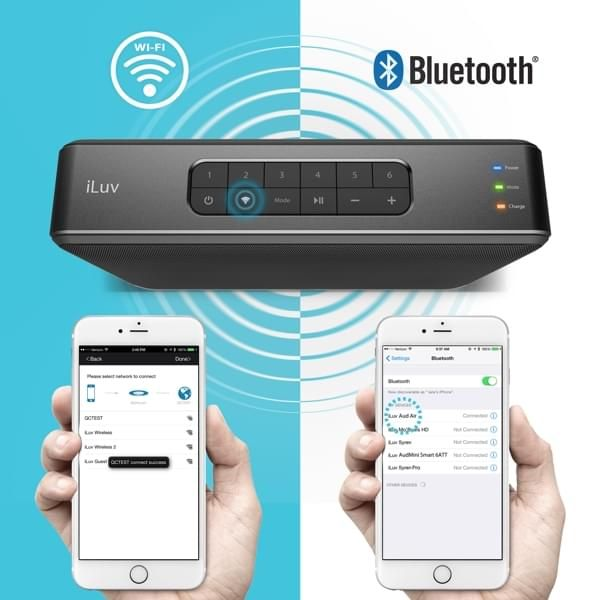 WiFi Bluetooth Multi Room Lautsprecher
