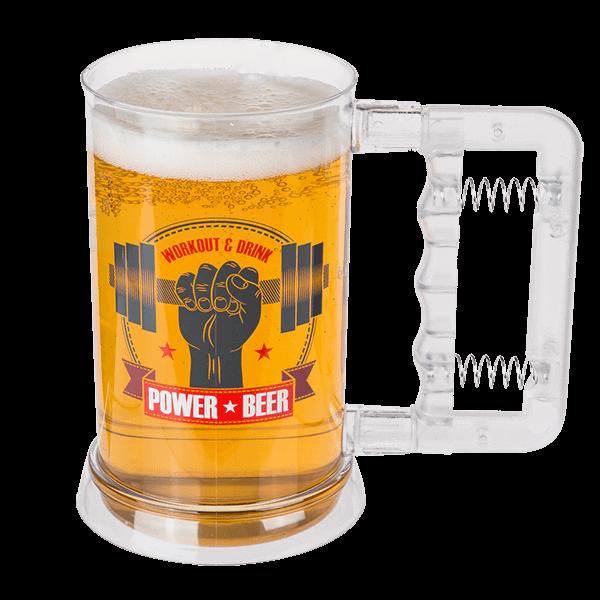 """Bierkrug """"Power Beer"""""""