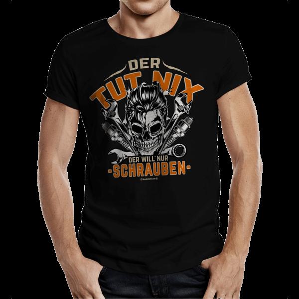 """T-Shirt """"Der tut nix – der will nur schrauben"""""""