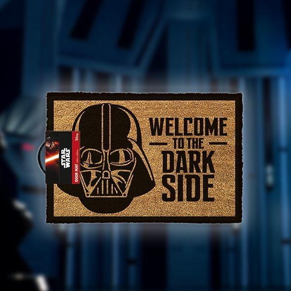 """Fußmatte """"Welcome to the dark side"""""""