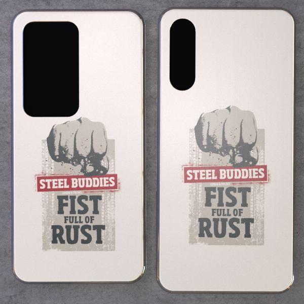 """Steel Buddies Cover """"Fist Full"""" für Huawei P Modelle"""