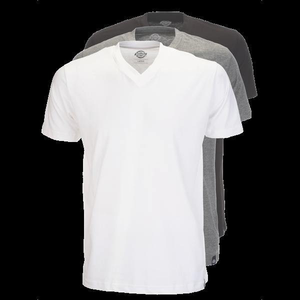 T-Shirt 3er-Set von Dickies (V-Ausschnitt)