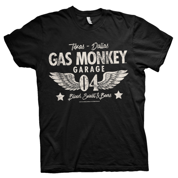 "Gas Monkey Garage T-Shirt ""Texas - Dallas"""