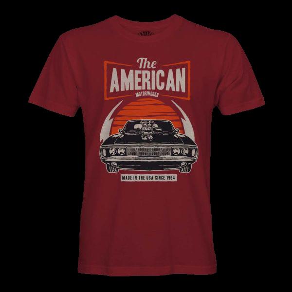 "T-Shirt ""American Motorworks"""