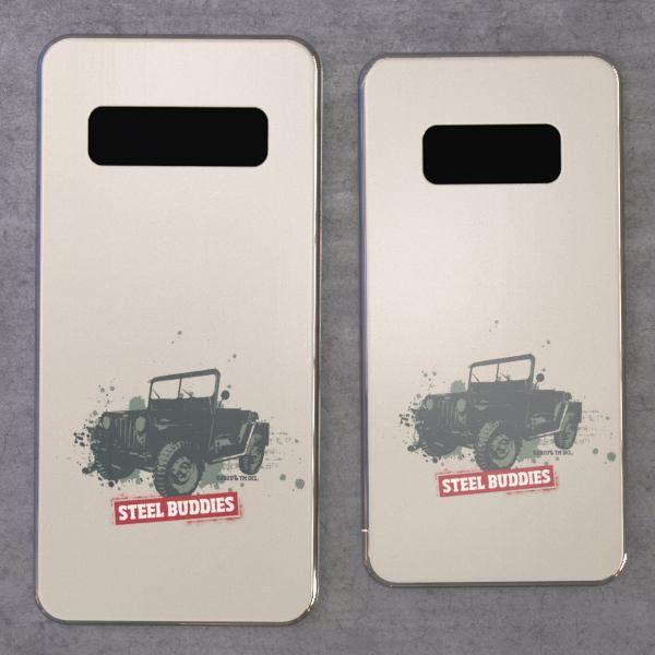 """Steel Buddies Cover """"Jeep"""" für Galaxy S Modelle"""