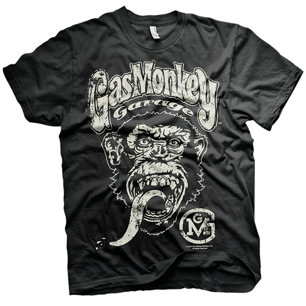 "Gas Monkey Garage T-Shirt ""Big Logo"""