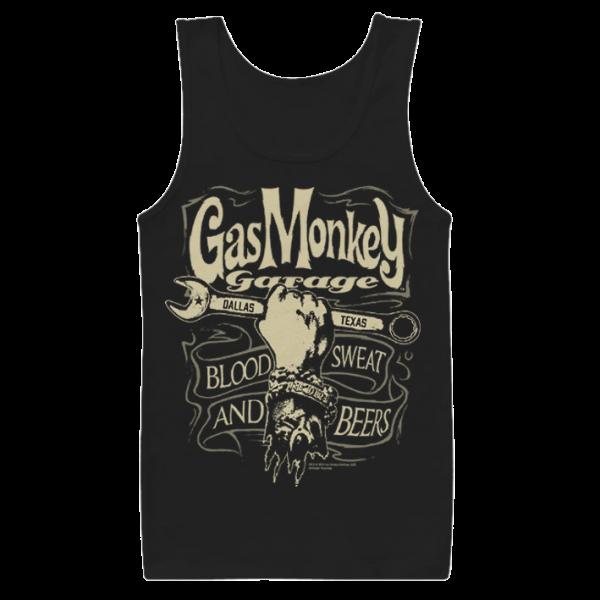 "Gas Monkey Garage Tank Top ""Wrench Label"""