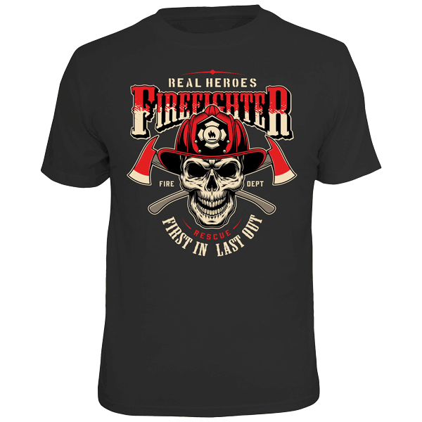 "T-Shirt ""Firefighter"""