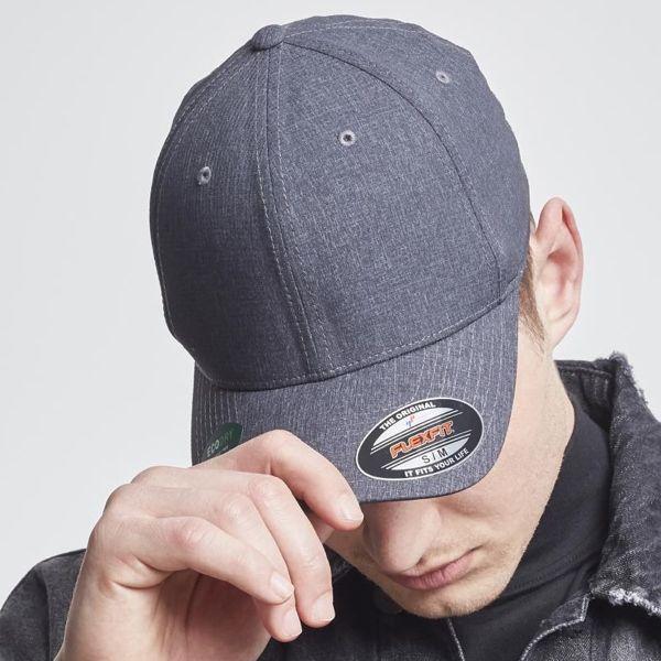 "Flexfit Cap ""Poly Air Dark Melange"""