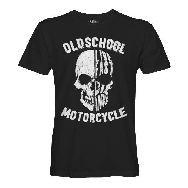 "T-Shirt ""Oldschool Motorcycle"""