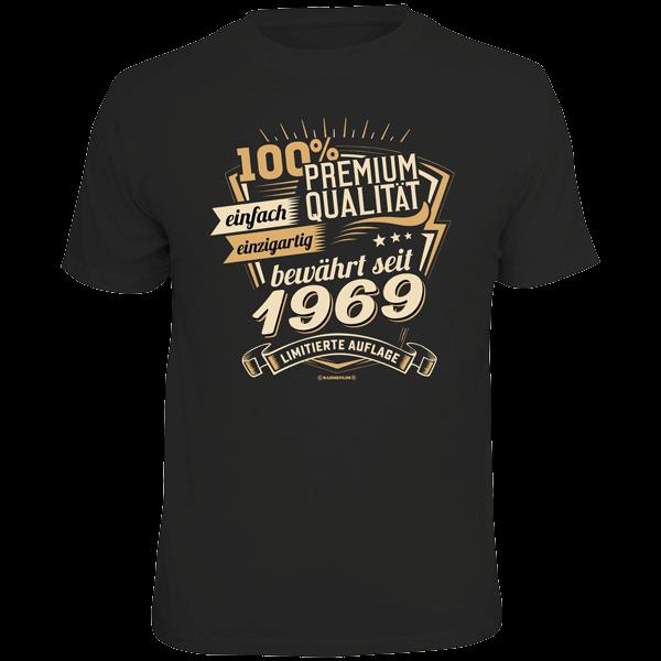 """T-Shirt """"Premium Qualität seit 1969"""""""