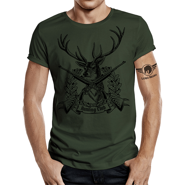 "T-Shirt ""Hunting Club"""