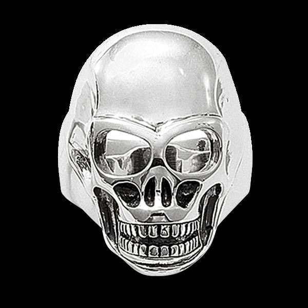 """Ring """"Totenkopf"""" aus 925er Sterlingsilber"""
