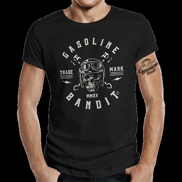 """T-Shirt """"Logo"""" von Gasoline Bandit"""