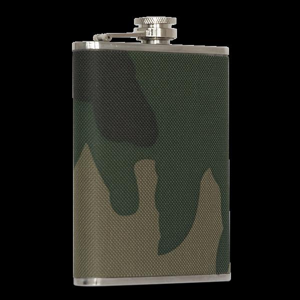 """Flachmann """"Camouflage"""" (110 und 220 ml)"""
