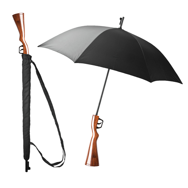 Gewehr Regenschirm