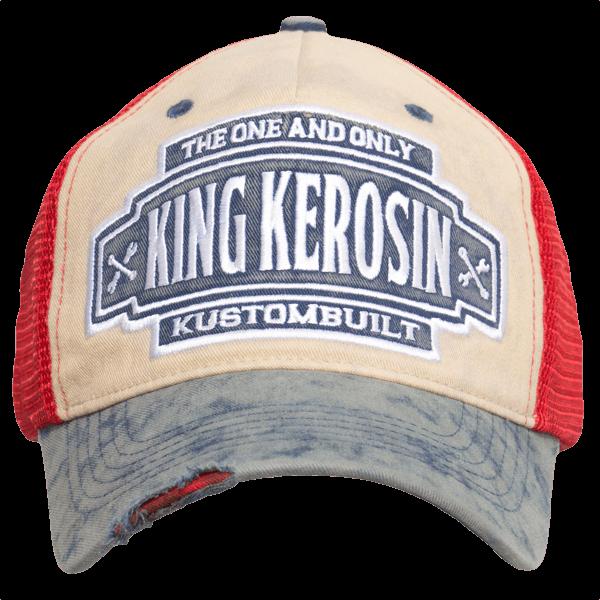 "King Kerosin Trucker Cap ""Kustombuilt"""