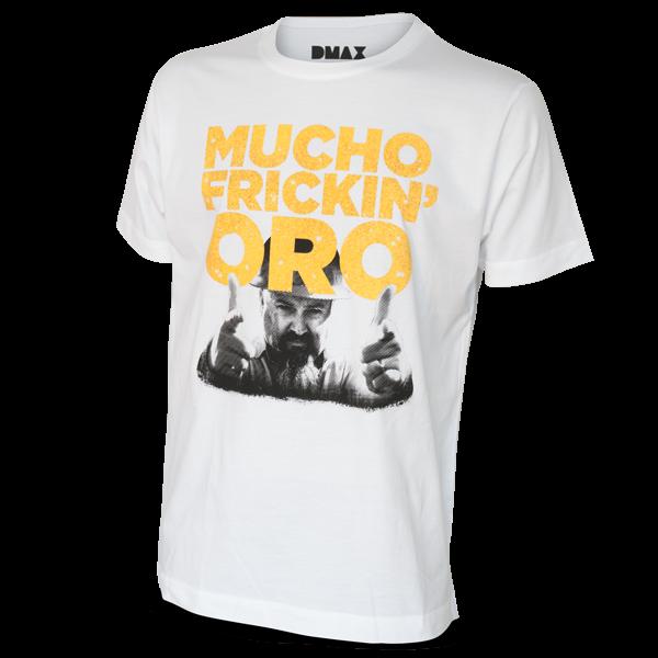 """Gold Rush T-Shirt """"Mucho"""""""