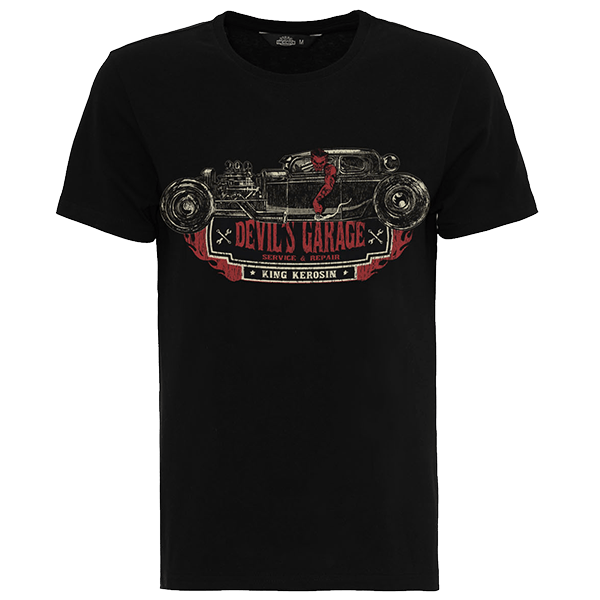 "King Kerosin T-Shirt ""Devils Garage"""