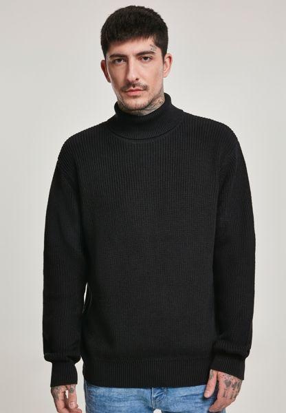 Cardigan Stitch Rollkragen Sweater von Urban Classics