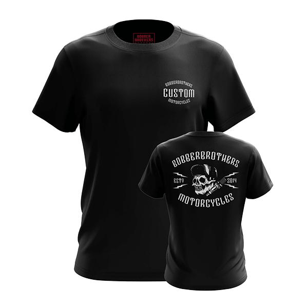 "T-Shirt ""Custom Motorcycles"" von Bobber Brothers"