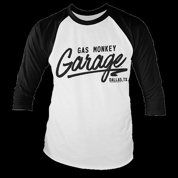 Gas Monkey Garage Baseballshirt