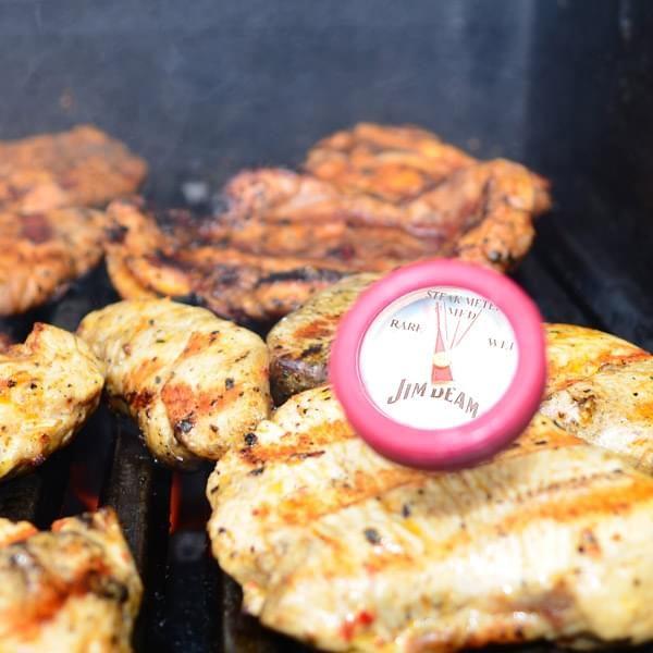 Jim Beam BBQ-Thermometer 4 Stück