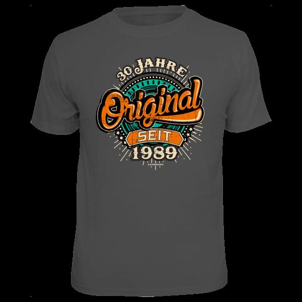 """T-Shirt """"Original seit 1989"""""""
